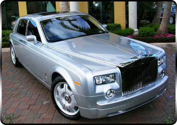 rolls royce car hire
