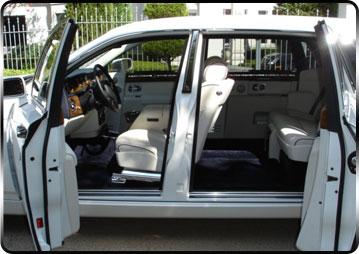 Phantom white interior